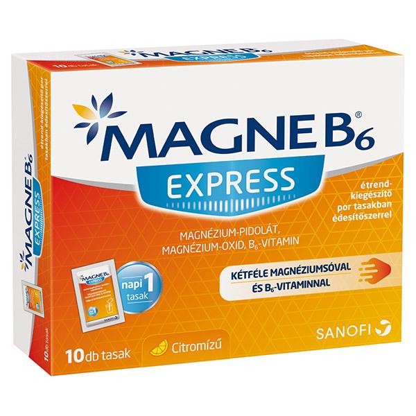 magne b6 és magas vérnyomás