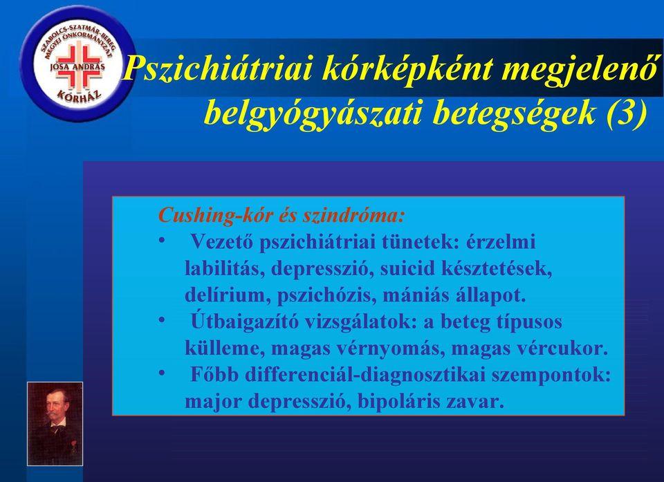 hipertónia pszichiátria