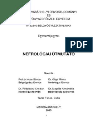 nephrogén magas vérnyomás urológia magas vérnyomás és érrendszeri tisztítás