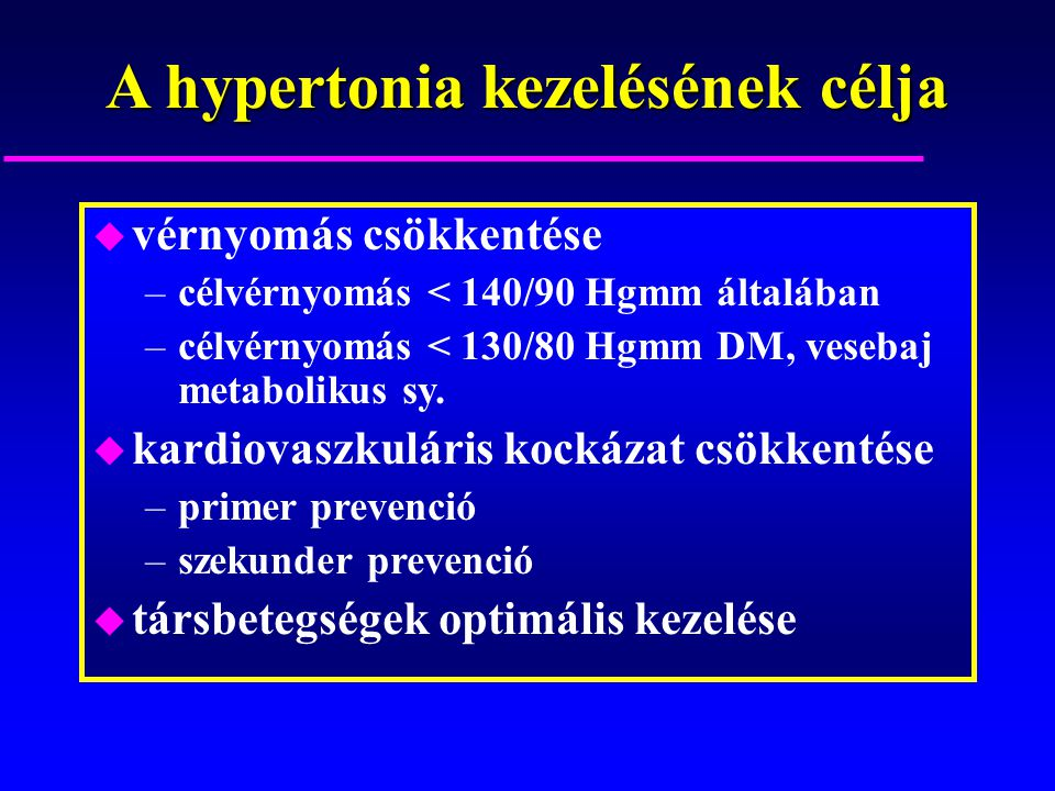 kardiovaszkuláris hipertónia tünetei