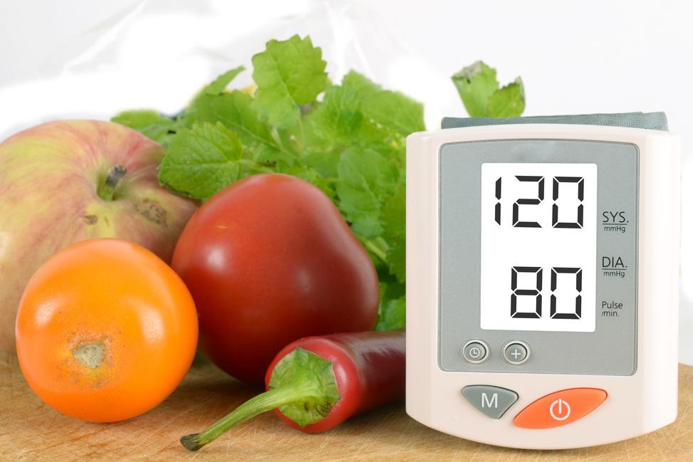 magas vérnyomás és étel