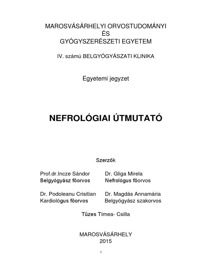 nephrogén magas vérnyomás kezelése magas vérnyomás emirál