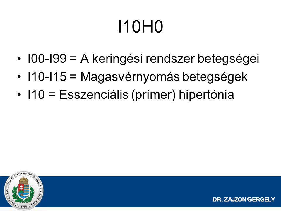 ICD 10 magas vérnyomás kód