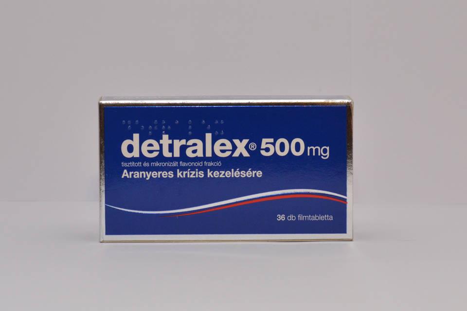 alkalmazható-e a Detralex magas vérnyomás esetén