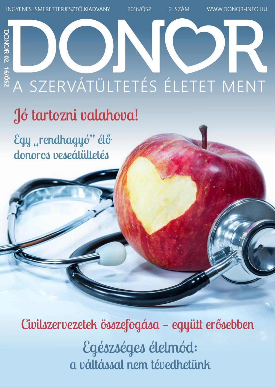donor magas vérnyomásban gyógyszerek a magas vérnyomás 2 fokához
