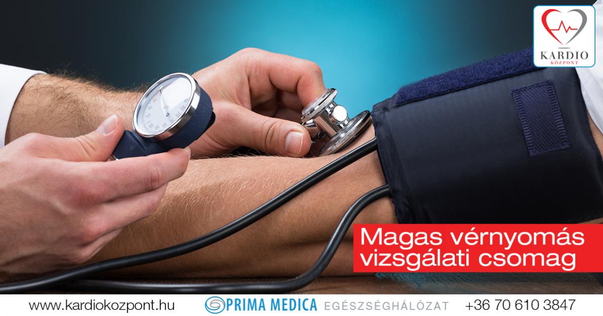 magas vérnyomás milyen vizsgálatok magas vérnyomás 20 és évesek
