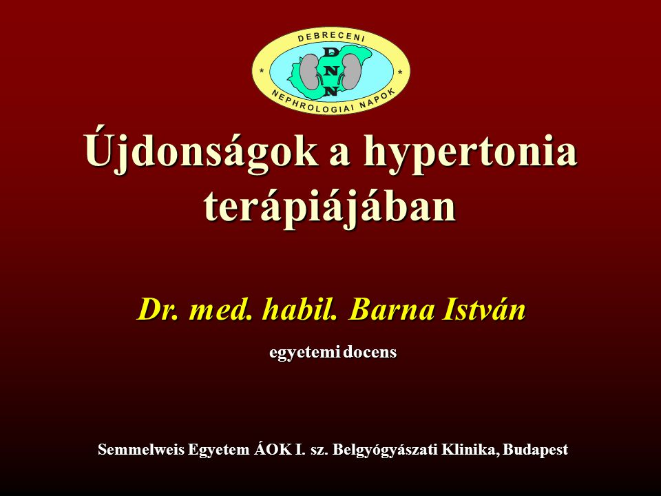 mit jelent a magas vérnyomás szó