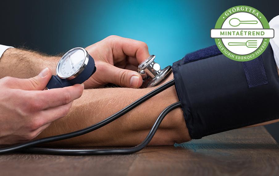 diéta a magas vérnyomás összetételéhez Eleutherococcus magas vérnyomásból
