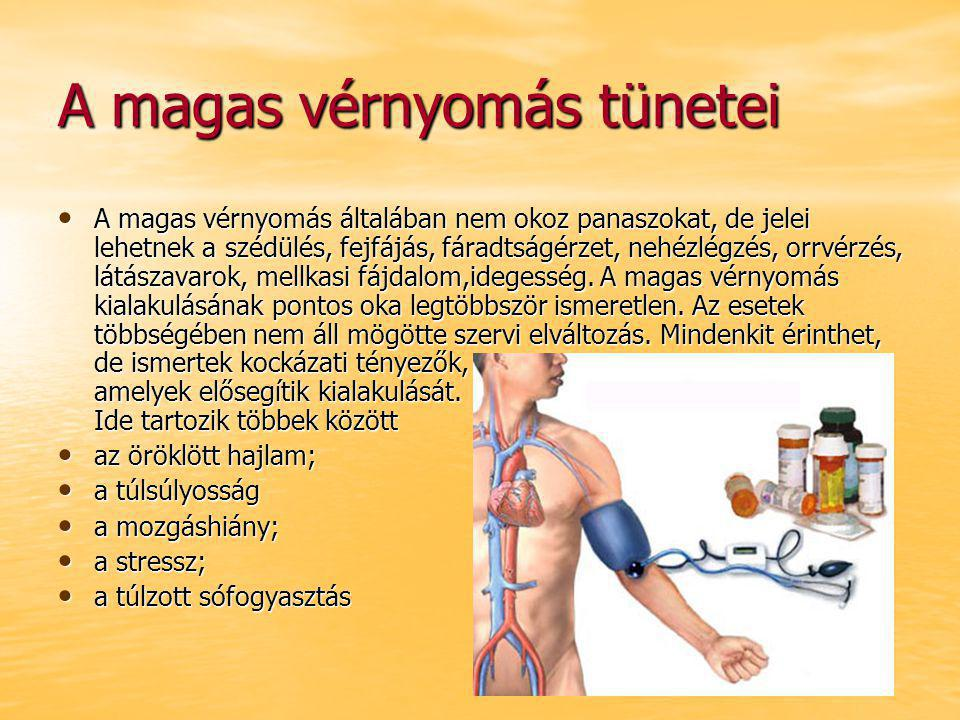 hipertónia tünete minden a magas vérnyomásról 3 fok