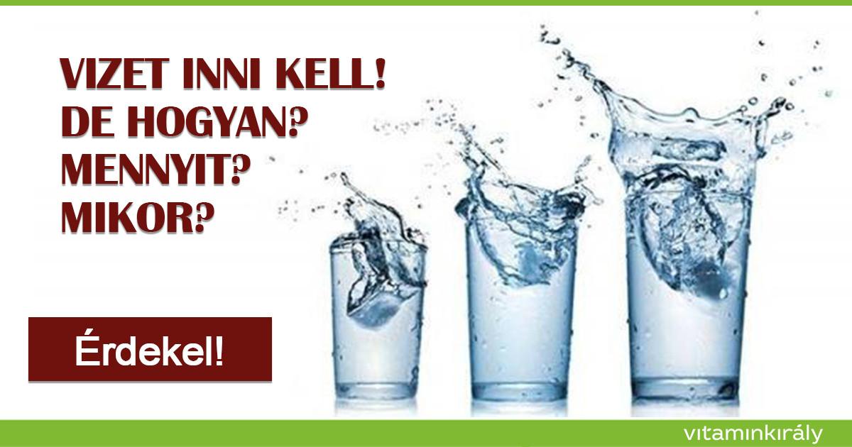 magas vérnyomás esetén mennyi vizet lehet inni naponta magas vérnyomás ahol pihenni