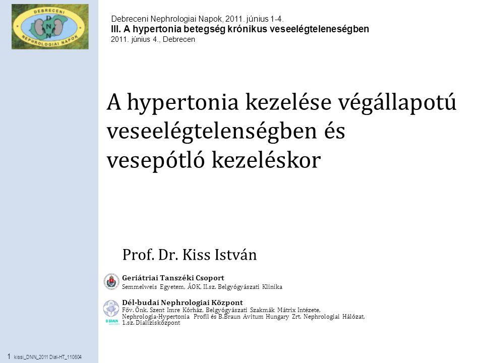 nephrológiai hipertónia magas vérnyomás és cukorbetegség kezelése